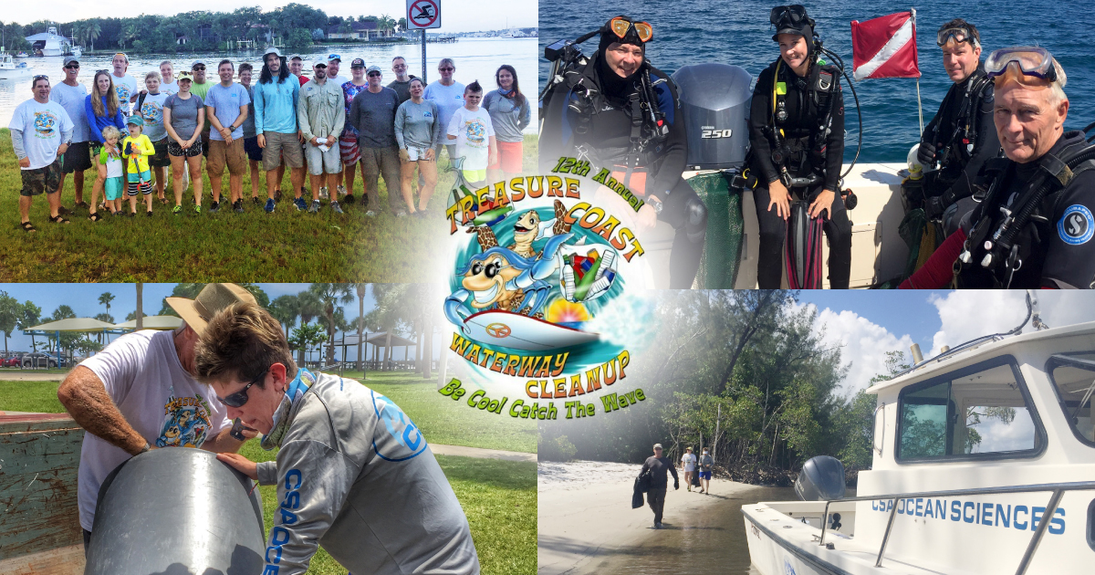 TSC joins CSA for Treasure Coast Beach & Ocean Cleanup